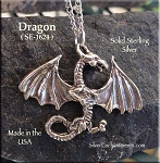Sterling Silver Dragon Charms