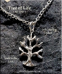 Sterling Silver Tree of Life Charm, Yggdrasil Jewelry