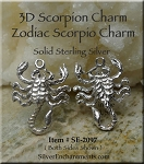 Sterling Silver Insect Charms