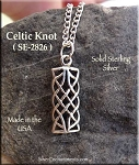 Sterling Silver Celtic Charm Niam Love Knot Charm Celtic Jewelry