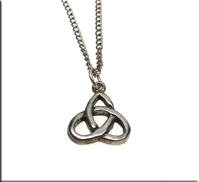 Sterling Silver Triquetra Charm Celtic Trinity Knot