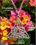 Sterling Silver Triquetra Charms