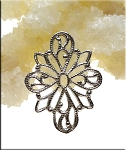 Sterling Silver Filigree Jewelry Finding