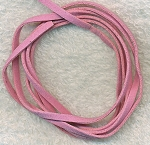 PINK Micro Fiber Suede Ultra Suede Lace Cord