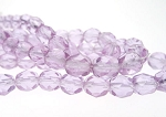 Purple Designer Czech Glass Beads