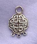 Sterling Silver Celtic Jewelry Connector Chandelier Component