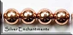 Copper Ball Bead, 8mm