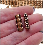 Genuine Copper 4-Strand Jewelry Separator with Diamond Detailing (1)
