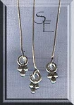 Sterling Silver Headpin with Dagg Drop, 20 gauge, 2-inch