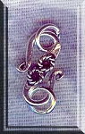 Sterling Silver Fancy S Hook Clasp with Rings, 18mm