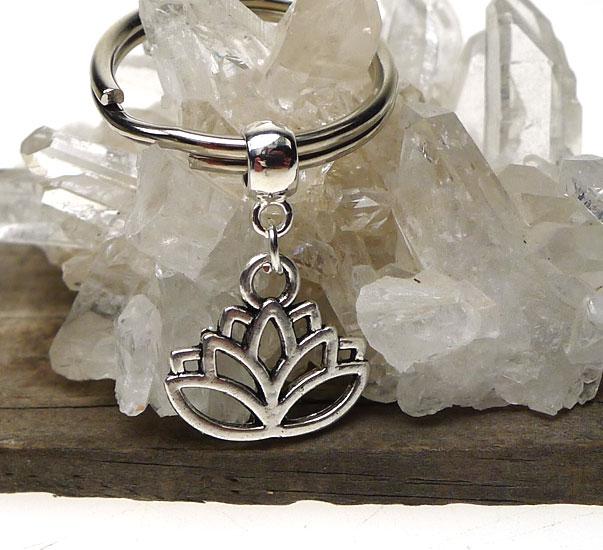 Lotus Key Ring Lotus Of Spiritual Enlightenment Egyptian