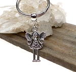 Fairy Key Ring, Fantasy Love Fairy Keychain, Angelic Key Ring