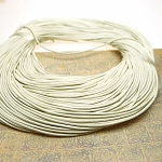 1mm Buff White Leather Cord, 10-feet