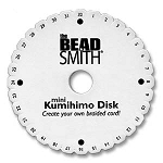 Kumihimo Braiding Disc, 4.25-inch Round Disc