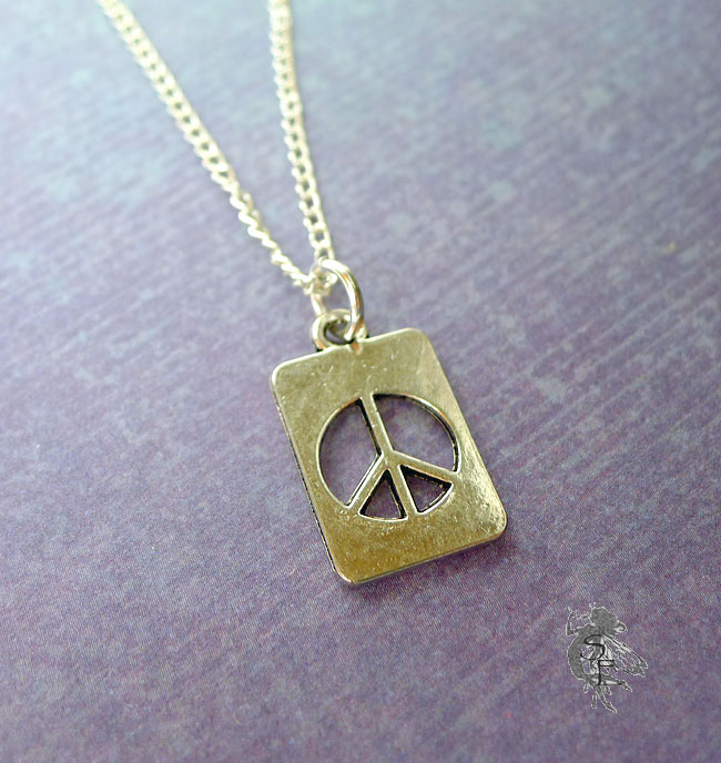 Ring Charm Necklace