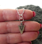 Arrowhead Necklace - Everyday Silver Arrowhead Jewelry