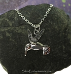 Hummingbird Necklace - Everyday Silver Hummingbird Jewelry