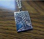 Silver Tree of Life Necklace, Tree of LIfe Jewelry - Everyday Spiritual Jewelry