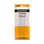 SOLDOUT - English Beading Needles, Size 10, 4-piece pack