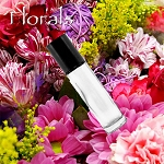 Natural FLORAL Roll On Perfume, Fragrance Oil, Vegan Perfume, Feminine Perfume, Roll On Fragrance, Roll On Perfume Oil