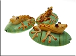 Lizard Beads, Lampworked Glass Gecko Pendant Beads, 1pc