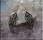 Celtic Post Earrings, Cetlic Knot Stud Earrings, Sterling Silver