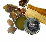 TREE HUGGER Salve - Piñon, Palo Santo and Sandalwood Balm, Organic Aromatherapy and 3rd Eye Ritual Salve, Organic Body Balm
