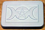 Triple Moon with Pentacle Soap Mold