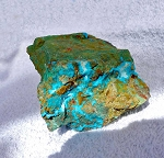 SOLD - DeGrussa Chrysocolla Specimen with Malachite and Cuprite
