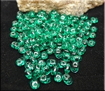 SuperDuo Beads, EMERALD Super Duo Seed Beads