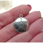Volleyball Charms Soccer Ball Charms Bulk (10)