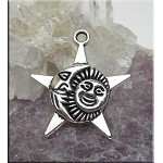 Sun Moon Star Pendant
