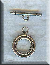 13mm Round Toggle Clasp (1)
