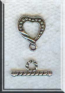 Dotted Heart Toggle Clasp (1)