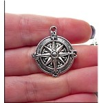 Compass Necklace - Everyday Silver Compass Jewelry