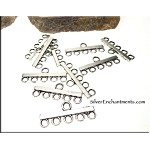 5 to 1 Jewelry Connectors, Earring-Bracelet Parts (10)