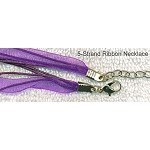 Purple Organza Necklaces (10)