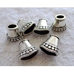 Silver Fancy Jewelry Cones (6)