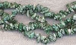 Tree Agate Beads, Tree Agate Chips Long Strand