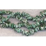 Tree Agate Chips, Long Strand