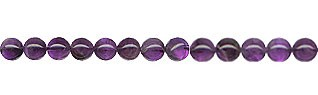 SOLDOUT - 4mm Round Amethyst Beads