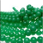 10mm Round Aventurine Beads, Green Aventurine Gemstone Beads Strand