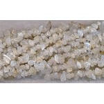 Light Citrine Quartz Chips, Long Strand
