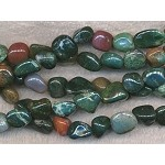 Bloodstone, Jasper, Agate Mixed Nuggets
