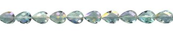 Teardrop Crystal Beads, 16x12mm VIOLET BLUSH