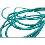 Turquoise Heishe Beads Gemstone Turquoise Wafer Beads 3-3.5mm Strand