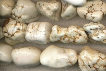 White Magnesite Nuggets avg 20x16x12mm