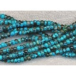Natural Turquoise Beads, 4mm Rondelle