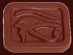 Eye of Horus Candy, Confectionery and Chocolate Mold, 9 Cavities per Sheet