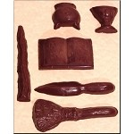 Pagan Ritual Tools Candy, Confectionary and Chocolate Mold